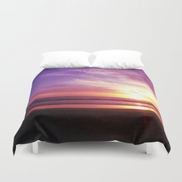 Purple Daze Duvet Cover