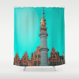 Ghent Lion Shower Curtain