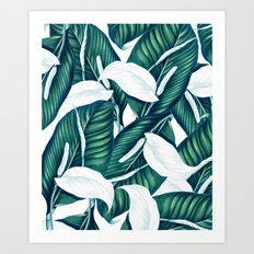 Tropical Winter #society6 #decor #buyart Art Print