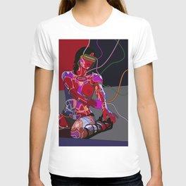 Jessica Biel 80s cyborg T-shirt