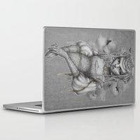 raven Laptop & iPad Skins featuring Raven by Zan Von Zed