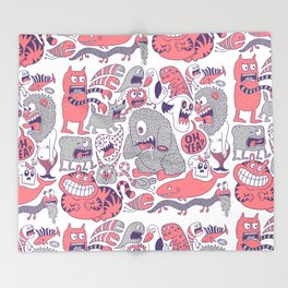 Ol' Doodle Throw Blanket