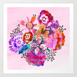Bunch of Love Art Print