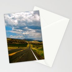 Tilted Road Trip Stationery Cards