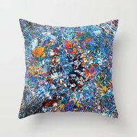 fruit Throw Pillows featuring Fruit by Stephen Linhart