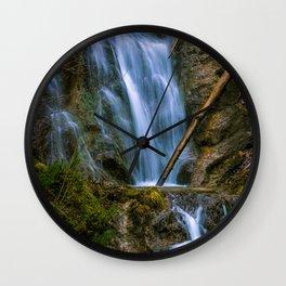Rock-washer Wall Clock