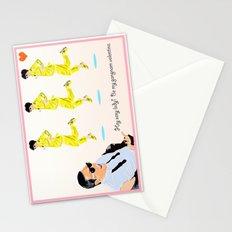 Gangnam Style Valentine Stationery Cards