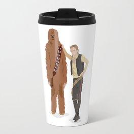 Han Solo and Chewbacca Travel Mug