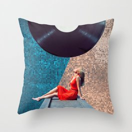 Stereo Throw Pillow