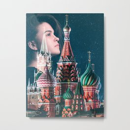 Dream of Kremlin Metal Print
