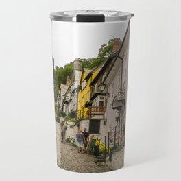 CLOVELLY VILLAGE MAIN STREET NORTH DEVON Travel Mug