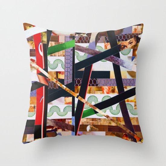 Ruben (stripes 19) Throw Pillow