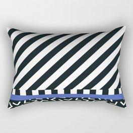 Memphis pattern 89 Rectangular Pillow