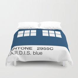 TARDIS Blue Pantone Duvet Cover