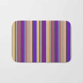 awning stripe Bath Mat