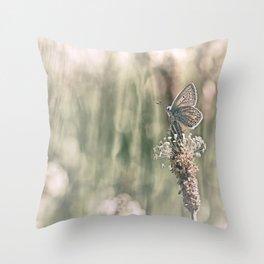 Keep an eye on the world around you.... Throw Pillow