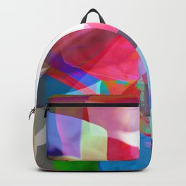 swissflag collage colorful Backpack
