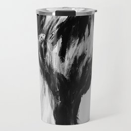 Surreal Distorted Portrait 04 Travel Mug