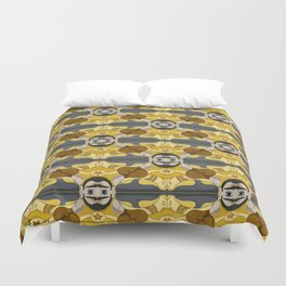 Unibrow Boxer Tessellation Duvet Cover