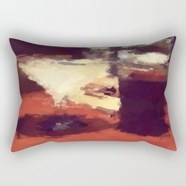 summertime and the livin is easy Rectangular Pillow