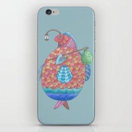 Gédéon, le Poisson iPhone Skin
