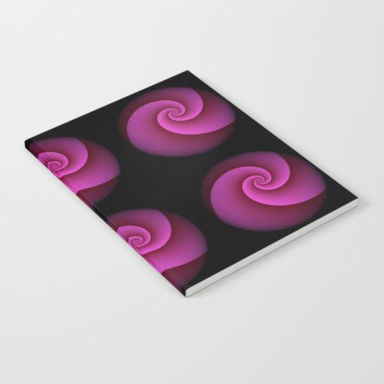 Fancy pink Notebook