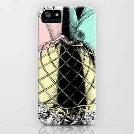 Chillin Pineapple iPhone Case
