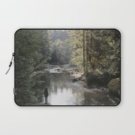 All the Drops form a River - landscape photography Laptop Sleeve