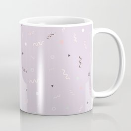Messy Pattern_Lilac version Coffee Mug