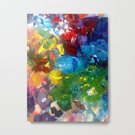 Abstract Palette #1 Metal Print