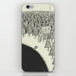 'Isolation' (B&W) iPhone Skin