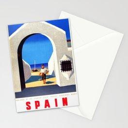 Vintage Spain Fisherman Travel Stationery Cards