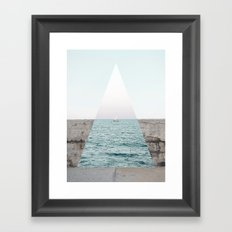 Navigating to the truth Framed Art Print