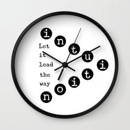 Intuiton Wall Clock