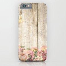 Wood Roses iPhone 6s Slim Case