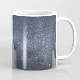 Penguin Lovers and Their New Home in the Stars Coffee Mug