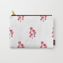 Poppy Wallpaper Carry-All Pouch