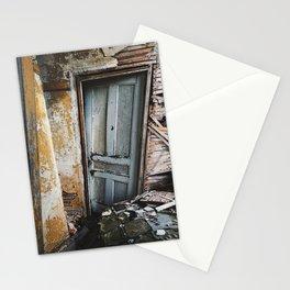Sinking Doorway Stationery Cards