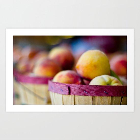 Oh, Peachy! Art Print