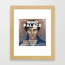 Mind Palace Tea Framed Art Print