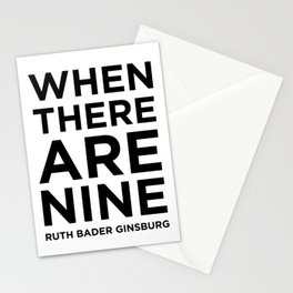When There Are Nine - Ruth Stationery Cards