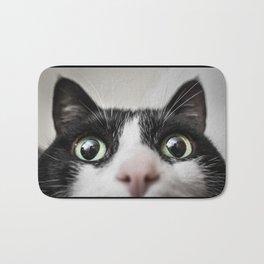 Funny Cat Bath Mat