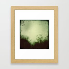 dreamy. Framed Art Print