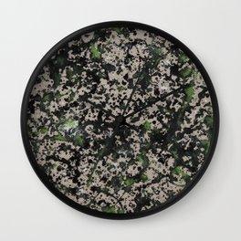 Lorne Splatter #5 Wall Clock