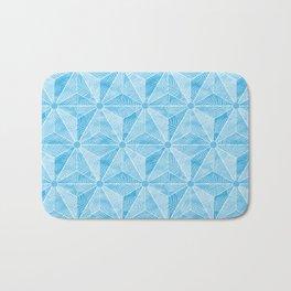 Geodesic Palm_Blue Sky Bath Mat