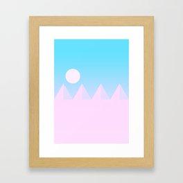 Desert Sandscape Framed Art Print