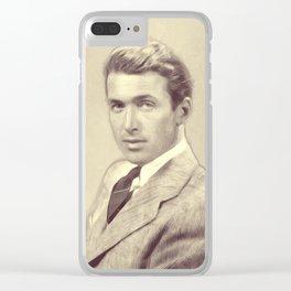 James Stewart, Actor Clear iPhone Case