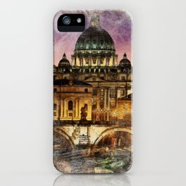 The City of Rome iPhone Case