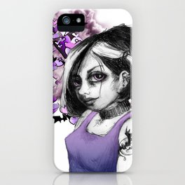 Z imagination The Goth iPhone Case