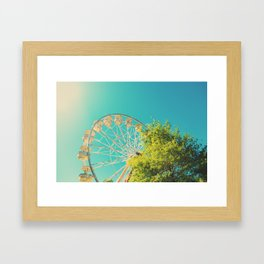 Festival Time! Framed Art Print